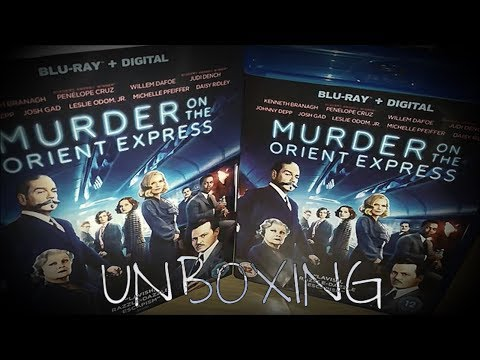 Murder On The Orient Express (2017) Blu Ray Unboxing!