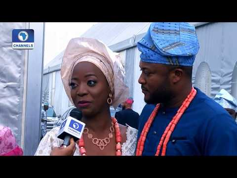 Channels TV Presenter, Maupe Ogun Weds Mohammed Bamidele Yusuf |Metrofile|