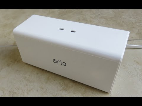 New Netgear Arlo Pro Charging Station Unboxing Review