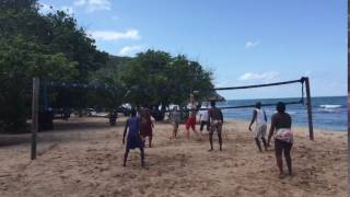 Beach Volleyball in Haiti at Cormier Plage - Cap-Haitien