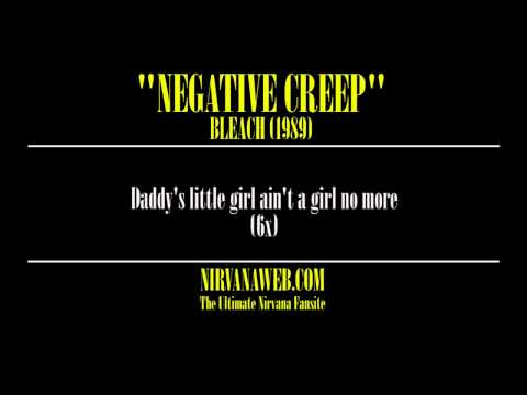 nirvana negative creep karaoke