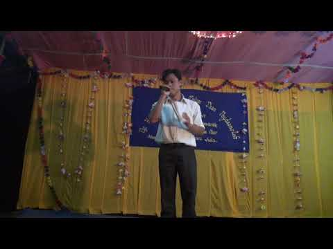 Mr.Nayan Moni Chakma.(Singer,Mizuram at,CADC) India.