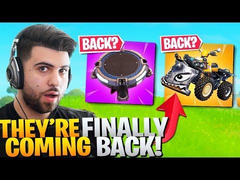 LAUNCH PADS & QUADCRASHERS Are Coming Back!? (Epic's SECRET Chan… видео