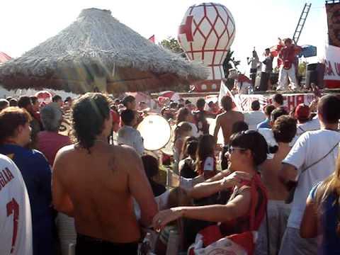Dia Mundial del Hincha 2010 - La Banda de la Quema - Huracán
