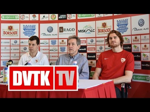"""""""Nem lesz egyszerű dolgunk""""   2017. január 12.   DVTK TV"""