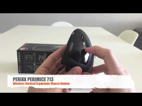 Perixx Perimice 713 Review - Ergonomic Vertical Mouse