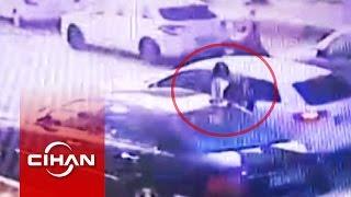 Suç makineleri kameraya yakalandı