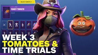 Fortnite: How to Finish the Tomato and Time Trial Challenges in Week 3