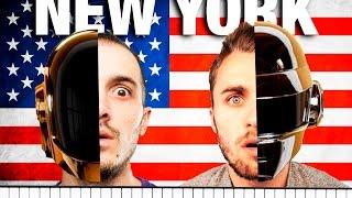 Video NEW YORK : LES NOUVEAUX DAFT PUNK !! MP3, 3GP, MP4, WEBM, AVI, FLV Juli 2017