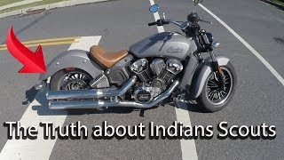 1. Is the Indian Scout Big Enough For a Man?