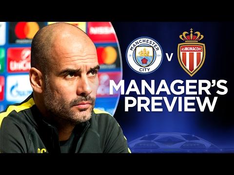 Video: MONACO ARE KILLERS IN THE BOX! | Man City v Monaco | Guardiola Press Conference