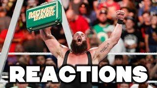 Video WWE Money In The Bank 2018 Reactions MP3, 3GP, MP4, WEBM, AVI, FLV Juni 2018