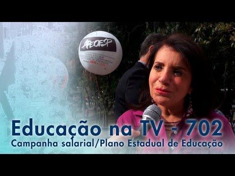Campanha Salarial / Plano Estadual de Educação