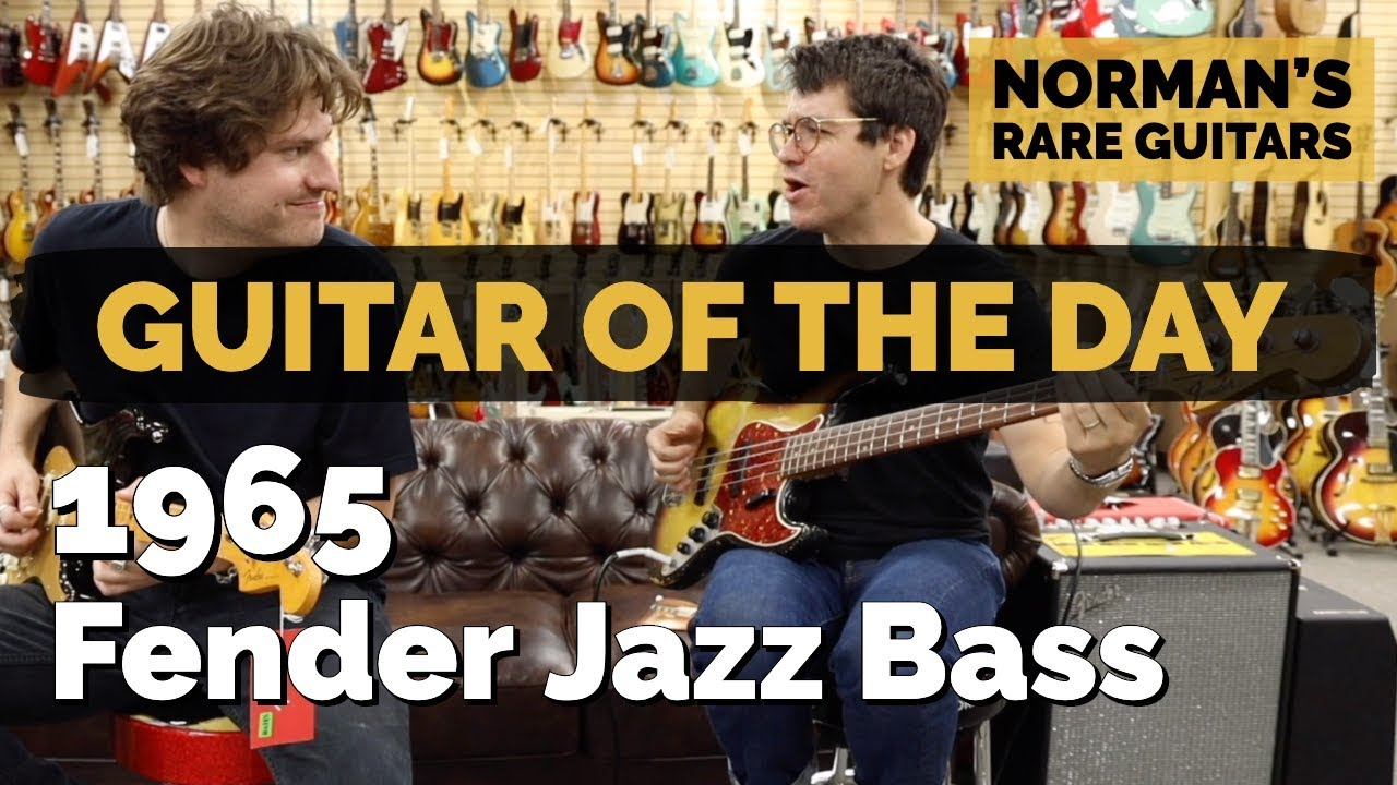 Guitar of the Day: 1965 Fender Jazz Bass | Norman's Rare Guitars