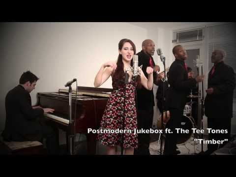 Timber - Get the mp3 on our album: http://msclvr.co/ADSkZN Postmodern Jukebox on Tour! Tix here: http://bit.ly/1h4A8wz Our friends The Tee Tones helped us take Pitbul...