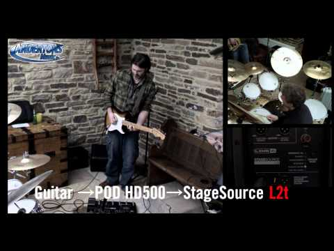 Line 6 StageSource L2t And HD500 - Is This The Best You Can Sound Without An Amp?