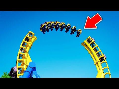 世界上最恐怖的「過山車」連呼吸都要停止了,最後一幕。。。心驚肉跳!