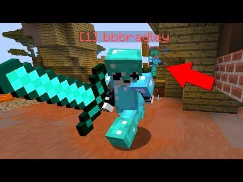 ОЧЕНЬ ДЛИННЫЙ МЕЧ ИЛИ ЧИТ? - (Minecraft Sky Wars)