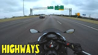 2. Can the Ninja 300 handle the highway?