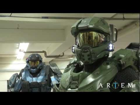 Halo 4 Master Chief Armour: Making Of