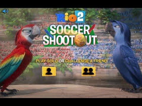 RIO 2 Soccer Shootout Gameplay HD - World Cup 2014