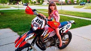 1. PONY DOWN 418  - My 2008 KTM 200 xc-w