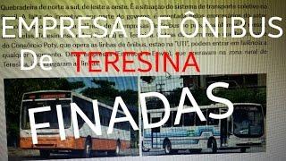 Empresas de ônibus de Teresina que já se foram hoje dia dos finados resolvi fazer esta homenagem a empresas de transporte...