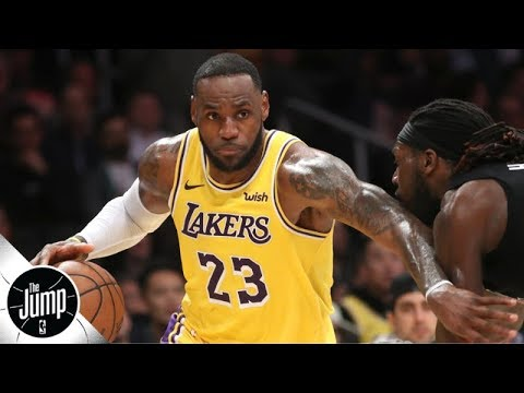 Video: Lakers are asking a lot of LeBron James by starting him at point guard - Marc J. Spears | The Jump