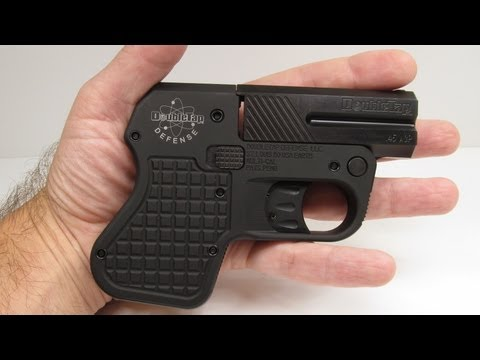 DoubleTap 45 Auto Tactical Pocket Pistol Review Part 1 – Unboxing
