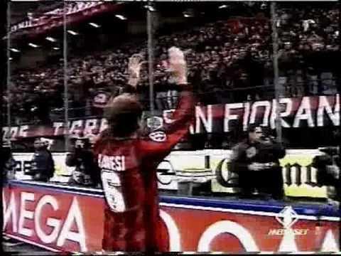 franco baresi, l'addio al calcio e il saluto del san siro (28/10/1997)