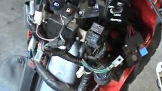 8. Big Honda Red Ruckus Electrical Mystery