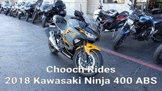 2. Chooch Rides - 2018 Kawasaki Ninja 400 ABS