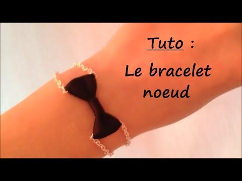 fai da te - braccialetto con fiocco