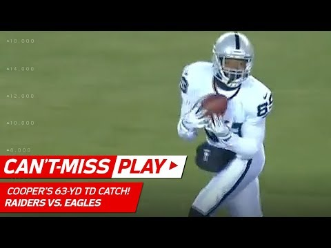 Video: Amari Cooper Blasts Off for a 63-Yd Catch-'n-Run TD vs. Philly! | Can't-Miss Play | NFL Wk 16