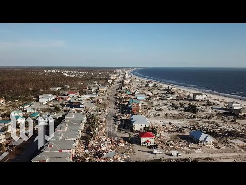 'It's like the end of the world': Hurricane Michael leaves a town in ruins