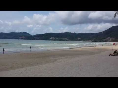 Patong Beach Phuket Thailand As Seen Today