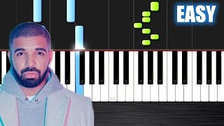 Drake - Hotline Bling - EASY Piano Tutorial  Ноты и М�Д� (MIDI) можем выслать Вам (Sheet music for p