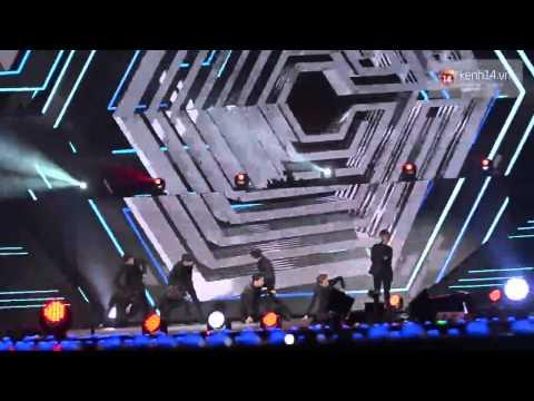 Overdose - EXO - Music Bank in Ha Noi 28/3/2015