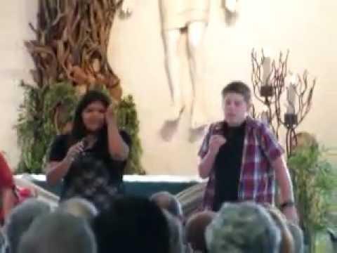 "8/5/12: Teen Showcase ""Bread"" at St. John Vianney Catholic Church in Sedona,Arizona.MP4"