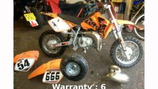 1. 2006 KTM 50 Adventure Mini Features
