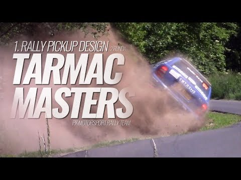 1. Rally Pickup Design - 2 runda Tarmac Masters 2018 - onboard mix - PK Motorsport Rally Team