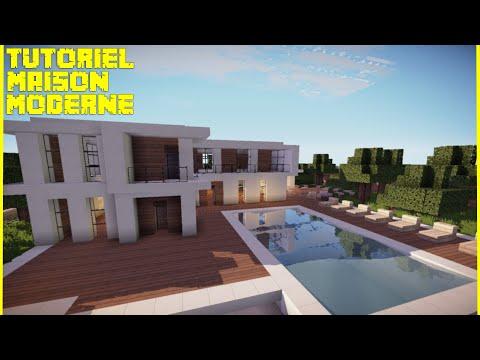 tuto dcoration ep01 comment bien dcorer sur minecraft chambre moderne - Chambre Moderne Minecraft