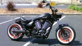 3. Contra Costa Powersports-Used 2013 Victory HIGHBALL 106ci V-twin bobber cruiser motorcycle