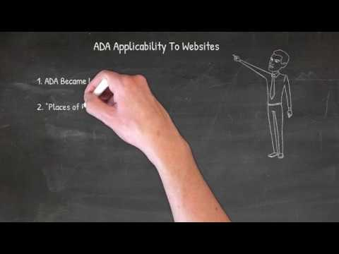 ADA Applicability To Websites