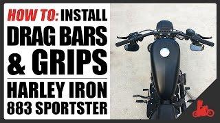 7. HOW TO: Install Drag Bars on Harley-Davidson Sportster