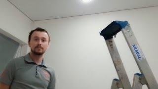 Бесшовный потолок 8 м<sup>2</sup>
