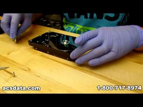 DIY Hard Drive Repair - Seagate Platter Swap - Data Recovery Video Project 3