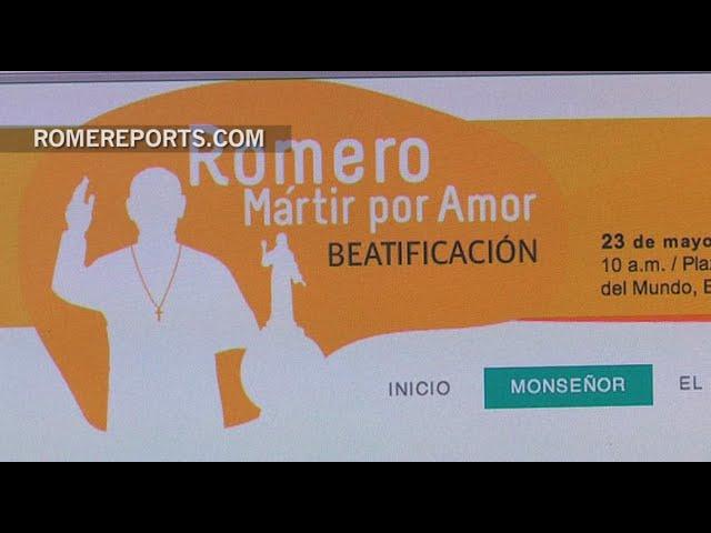 La Página Web de la beatificación de Mons. Romero