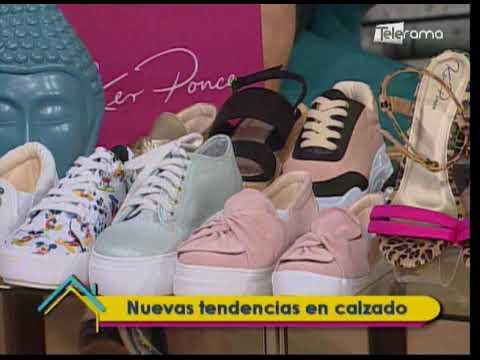 Nuevas tendencias en calzado