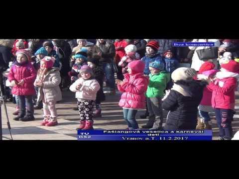 Bez komentára - Fašiangová veselica a karneval detí